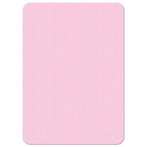 Soft Serve Ice Cream Cones Pink Baby Sprinkle Shower Invitation