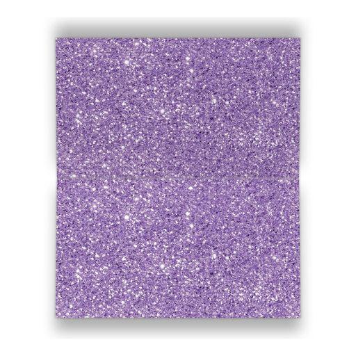black, silver grey, and purple Bat Mitzvah escort cards with purple ribbon, bow, jewels, glitter, and Jewish Star of David on it.
