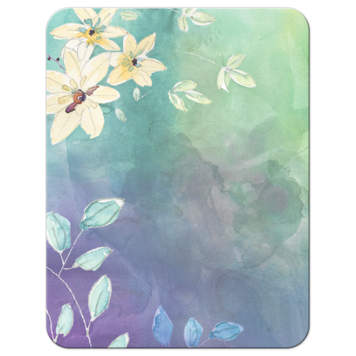 Floral Watercolor Bat Mitzvah