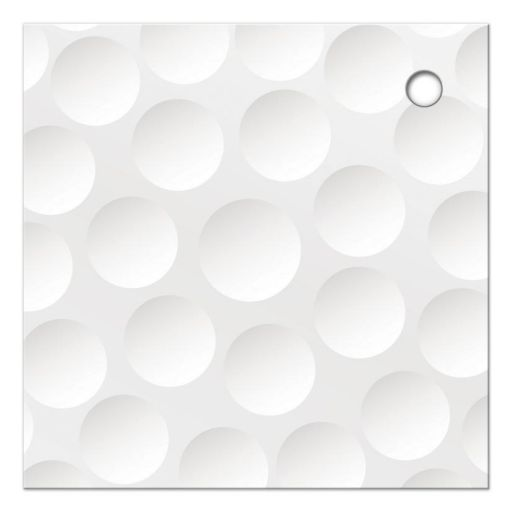 golf golfing bar mitzvah favor tags with hole punch back