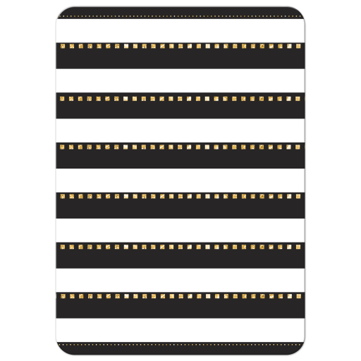 Black and White Stripes Bachelorette Party