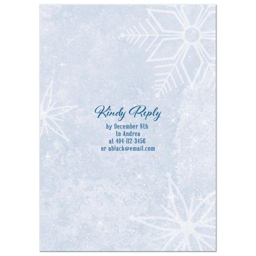 Unique Nutcracker ballet Christmas party invitation with dancing ballerina and winter snow scene back