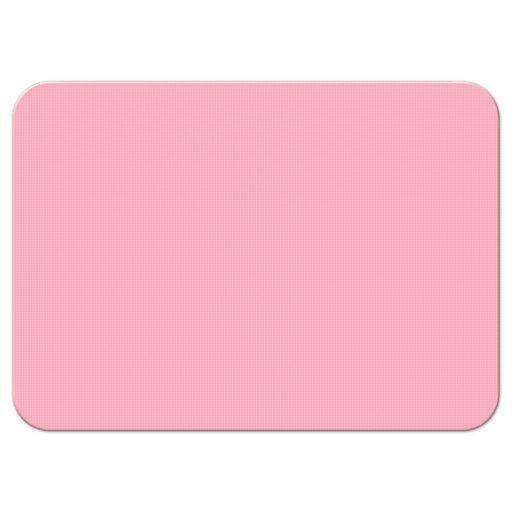 Elegant mint green and pink floral Bat Mitzvah RSVP card back