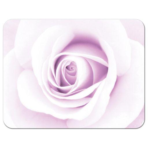 Purple rose, elegant sympathy thank you card