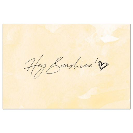 Hey Sunshine Postcard by The Spotted Olive