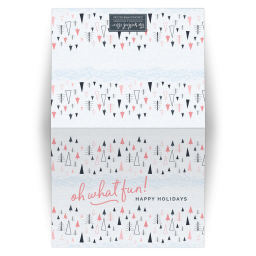 Whimsical Winter Forest Holiday Cards by The Spotted Olive