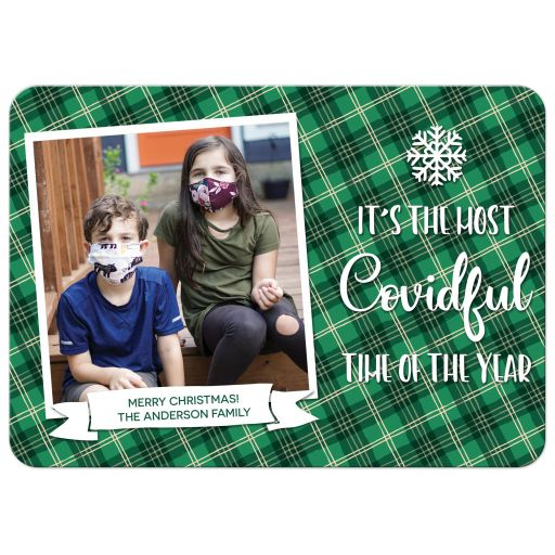 It's The Most Covidful Time of The Year Holiday Card by The Spotted Olive