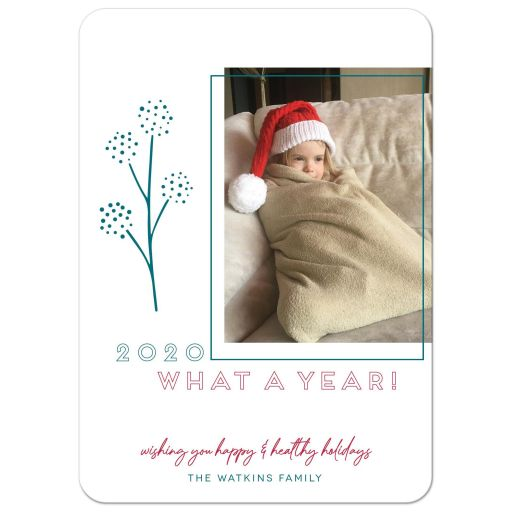 2020 What A Year! Holiday Card by The Spotted Olive