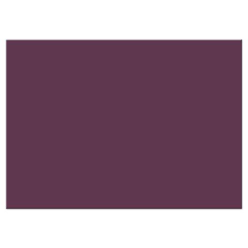 Purple Watercolor Flowers Garden Wedding Reply RSVP Card