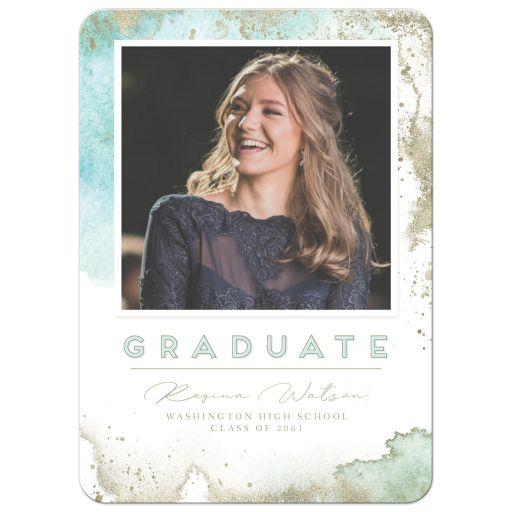 Ethereal Graduation Announcements by The Spotted Olive