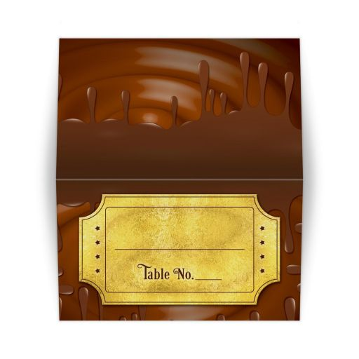 Chocolate golden ticket Bar Mitzvah RSVP card or golden ticket Bat Mitzvah place card