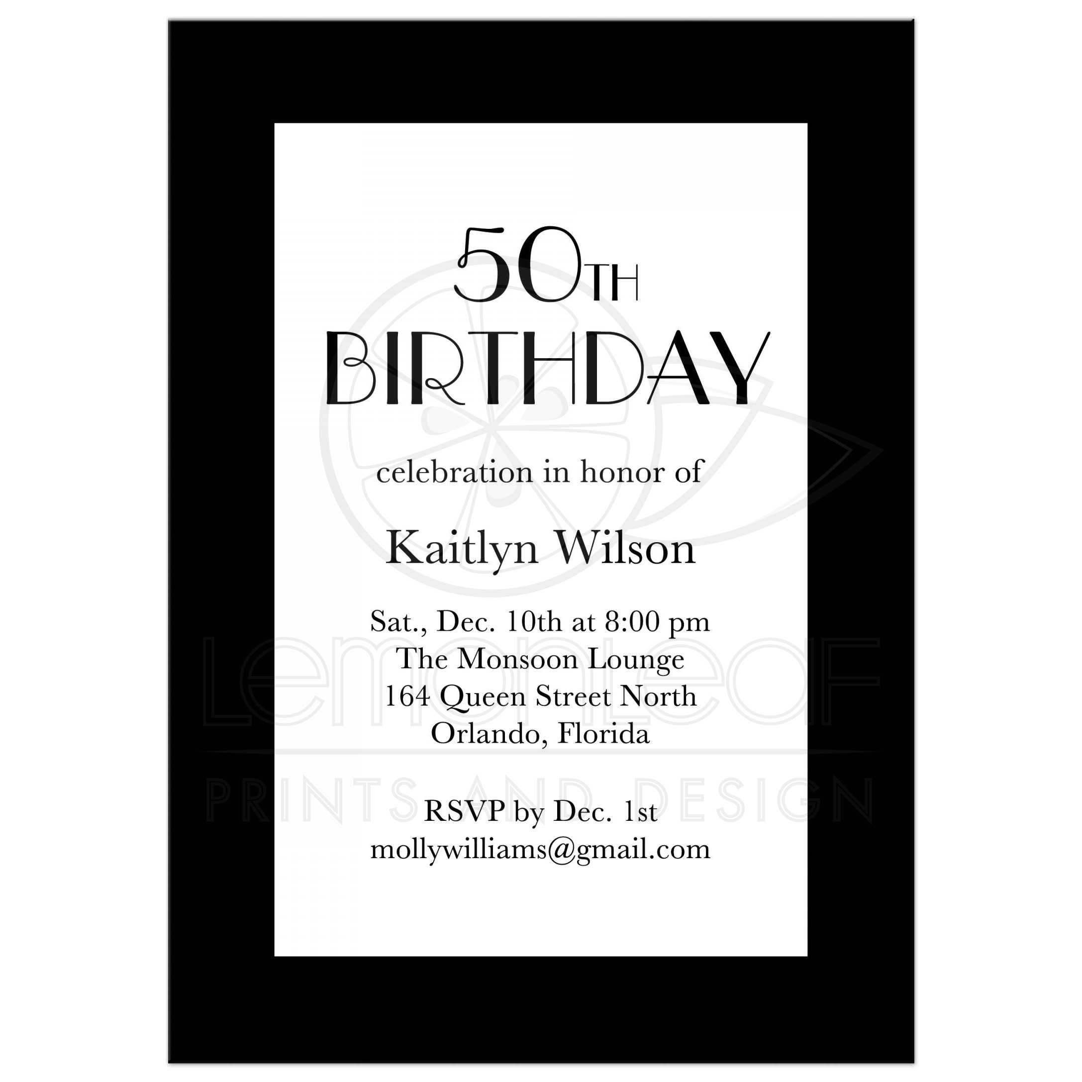 Birthday invitation black white 1920s time to drink champagne black white birthday invitation filmwisefo Images