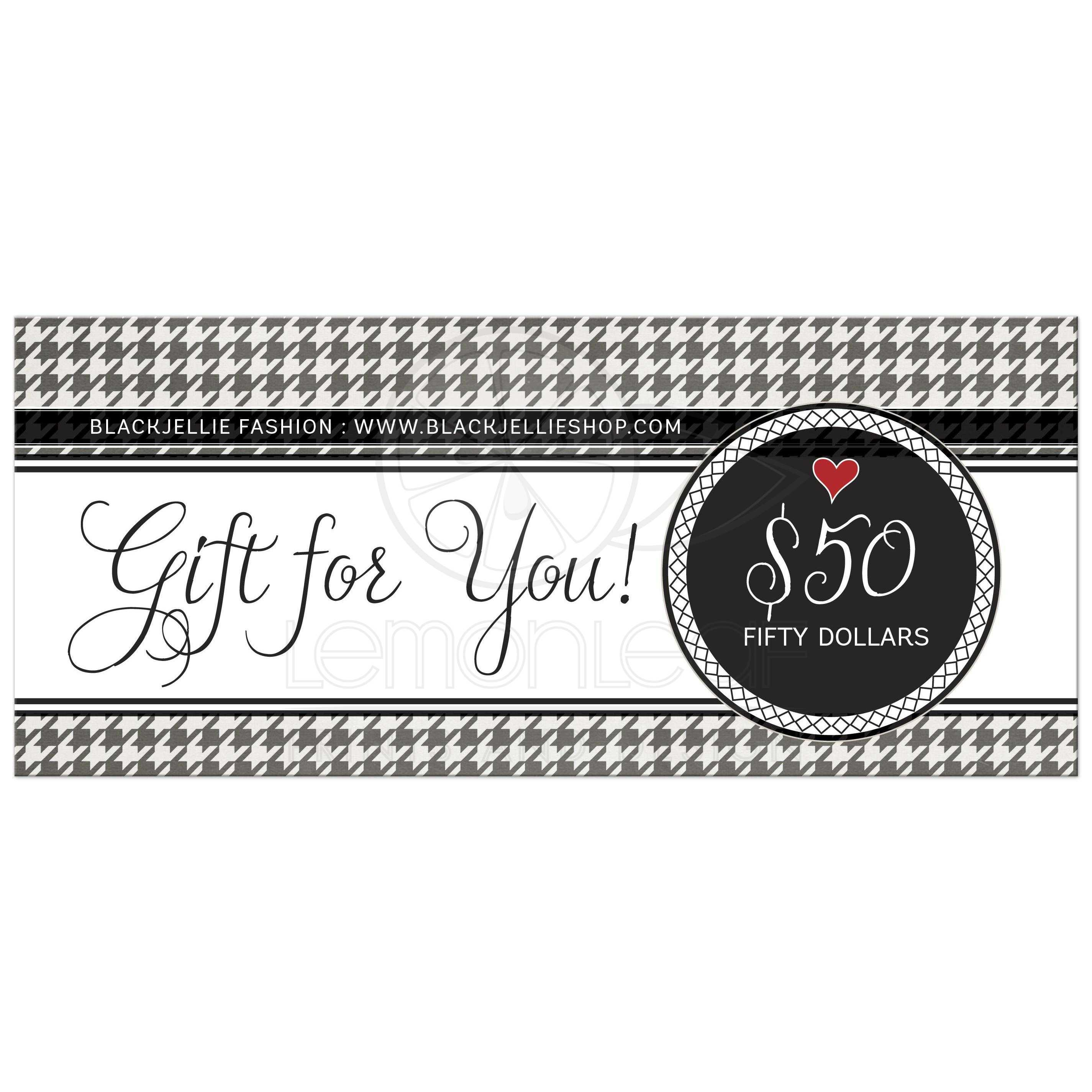 black and white gift certificate - Yeni.mescale.co