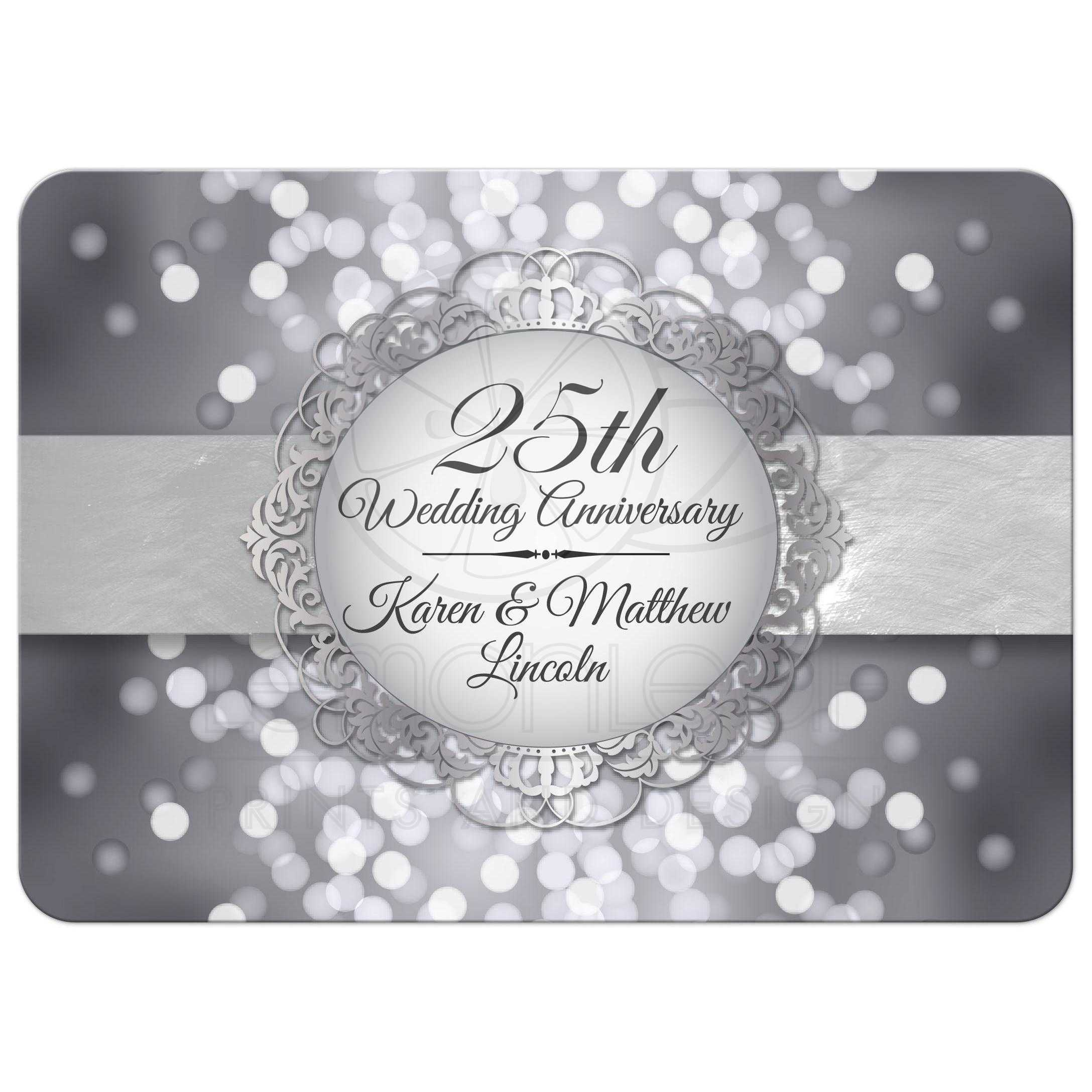 Anniversary Party Invitation Template Kalde Bwong Co