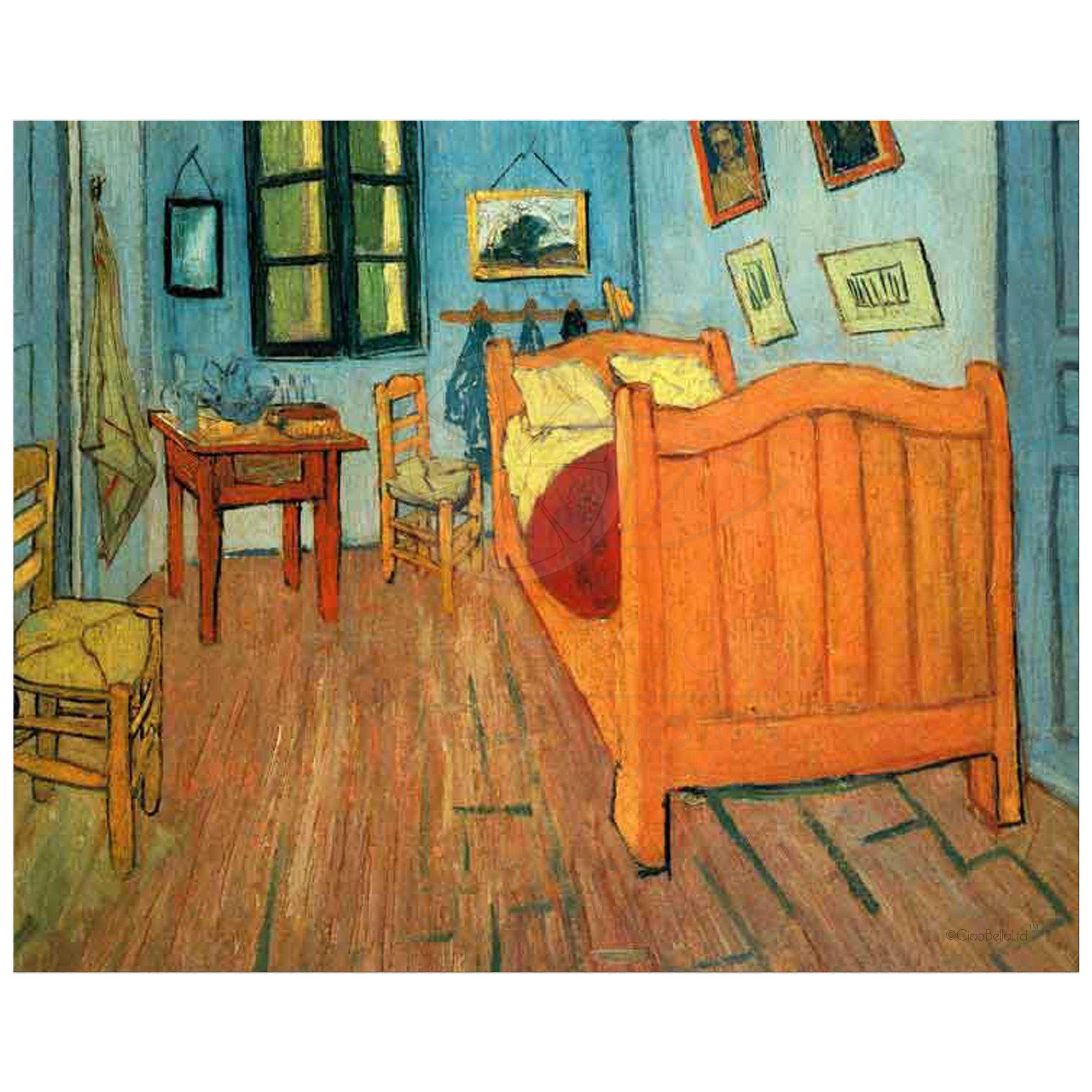 Van Gogh Bedroom In Arles: 8x10 Wall Art Featuring Van Gogh's Bedroom In Arles