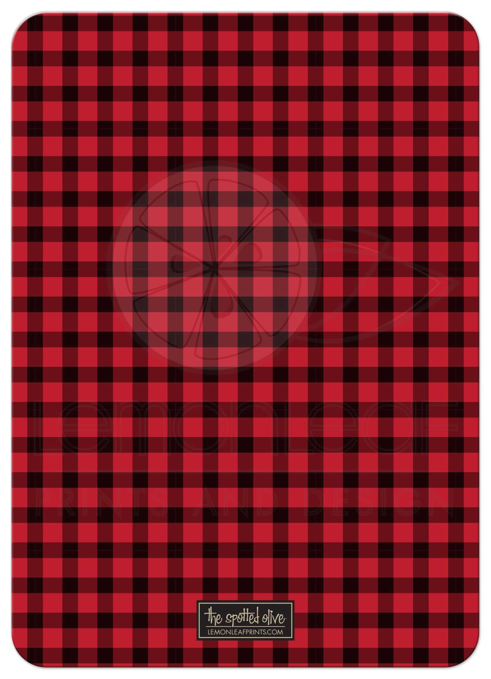 Bachelor Party Invitations Rustic Red Black Plaid Stag Party – Stag Party Invites