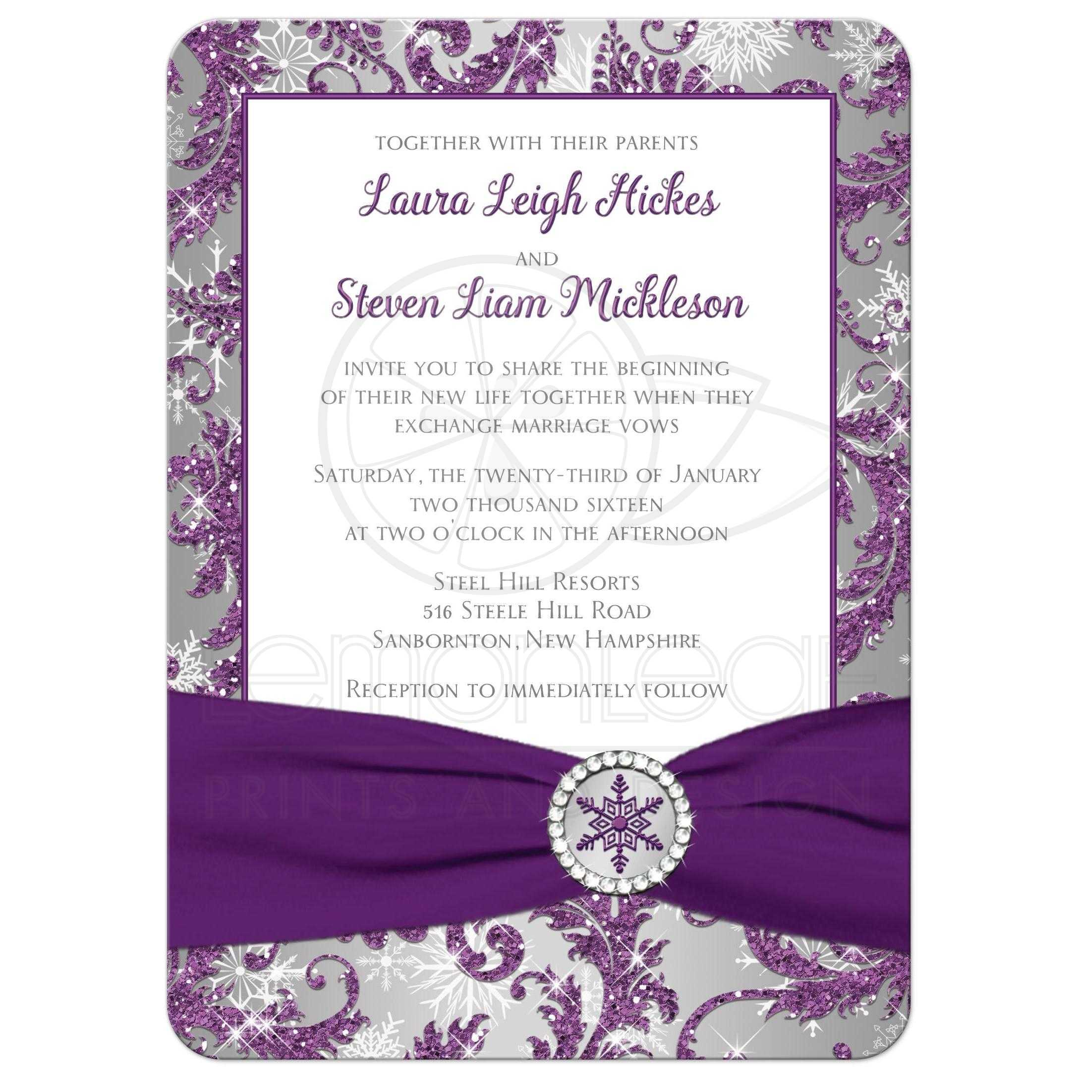 Damask Wedding Invitation is awesome invitations ideas