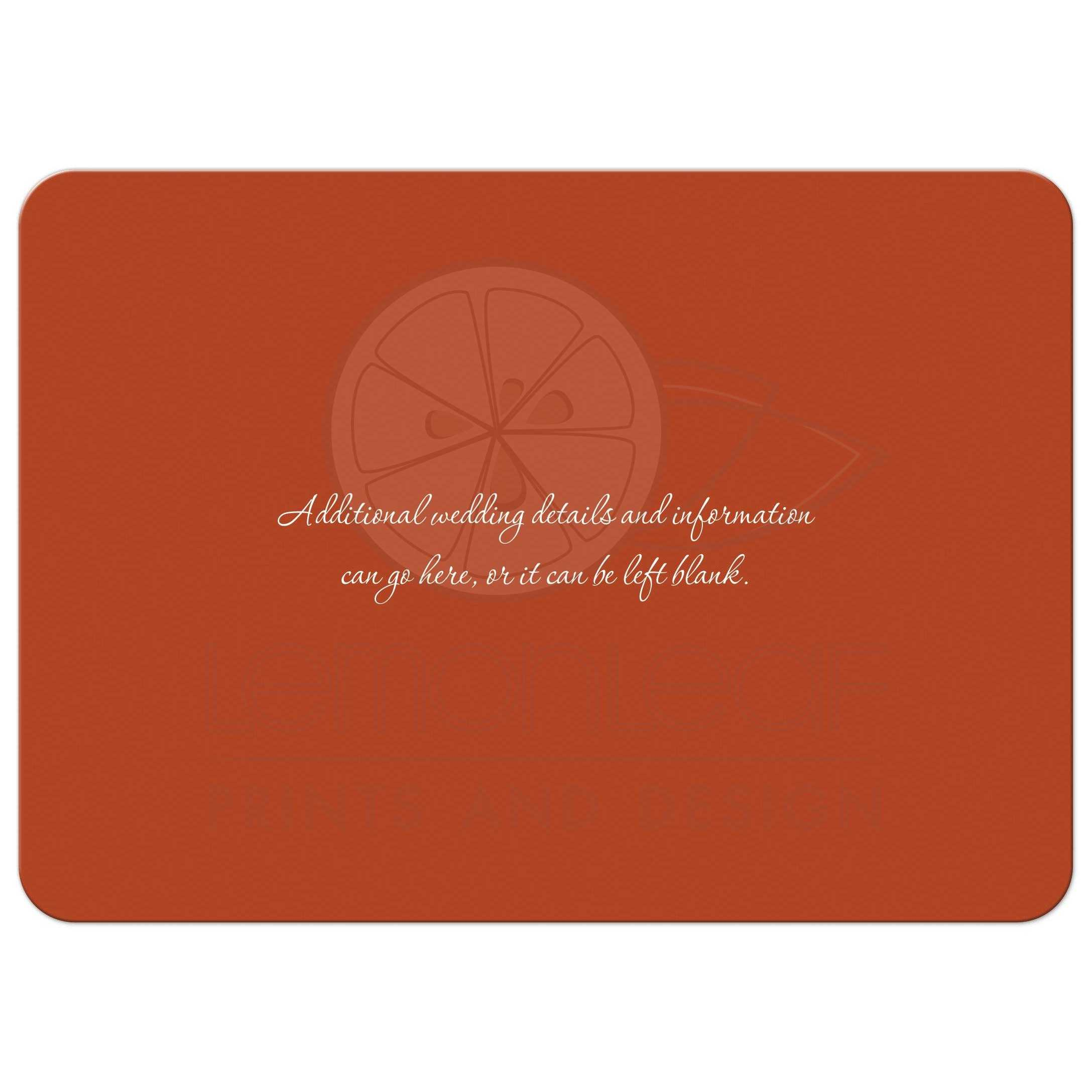 Destination Wedding Invitation | Sail Away With Us! | Sailboat | Sunset