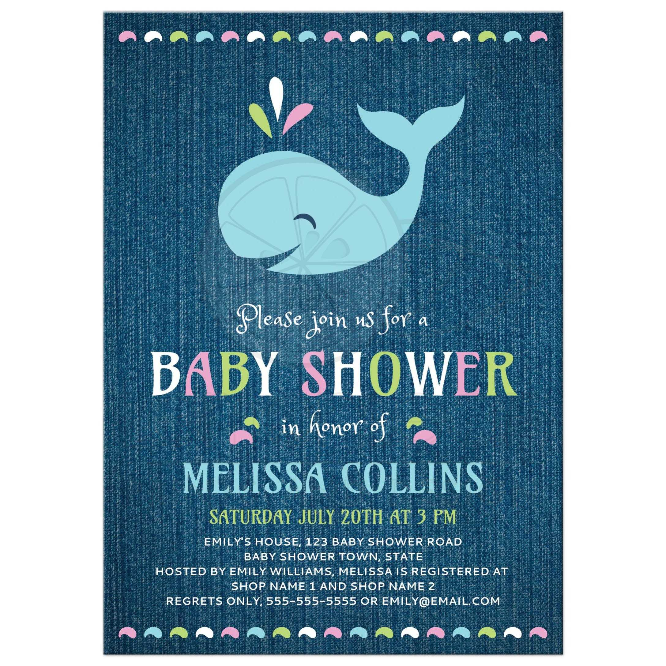 how to make cute baby shower invitations