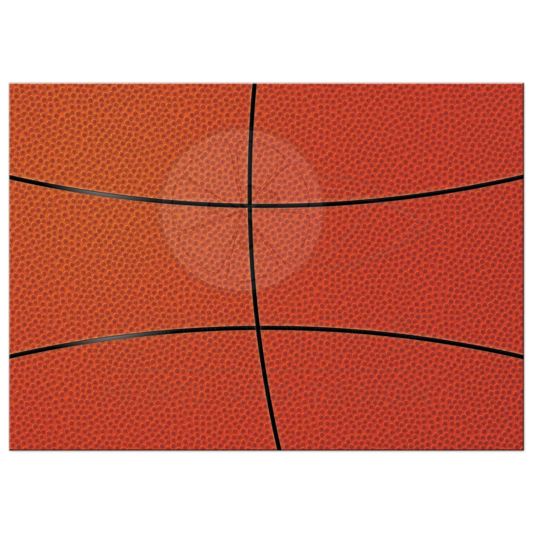 Basketball Bar Mitzvah Invitation | Jersey Ball Red