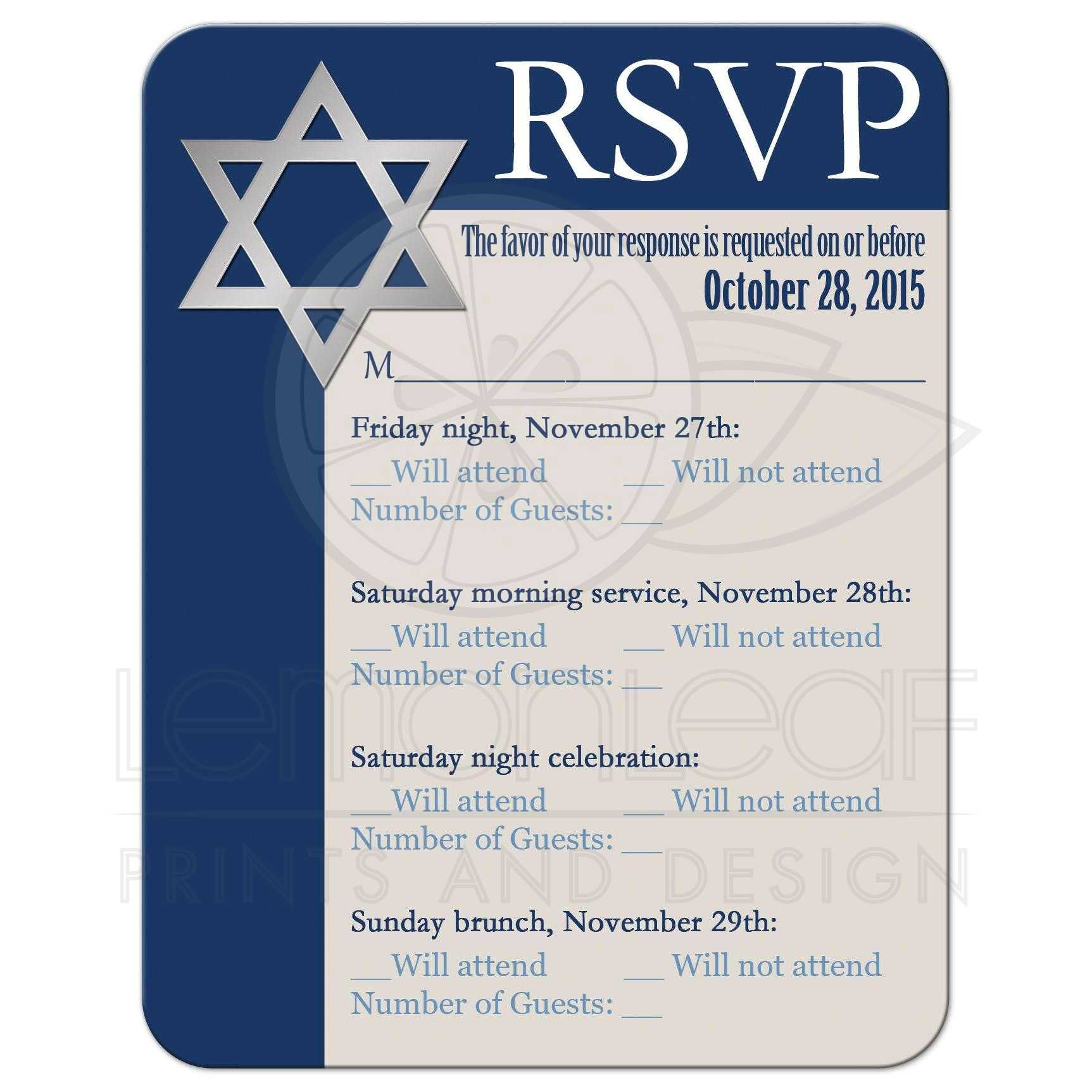 Tree Of Life Invitation Rsvp Celtic Life By: Royal Blue, Tan, White