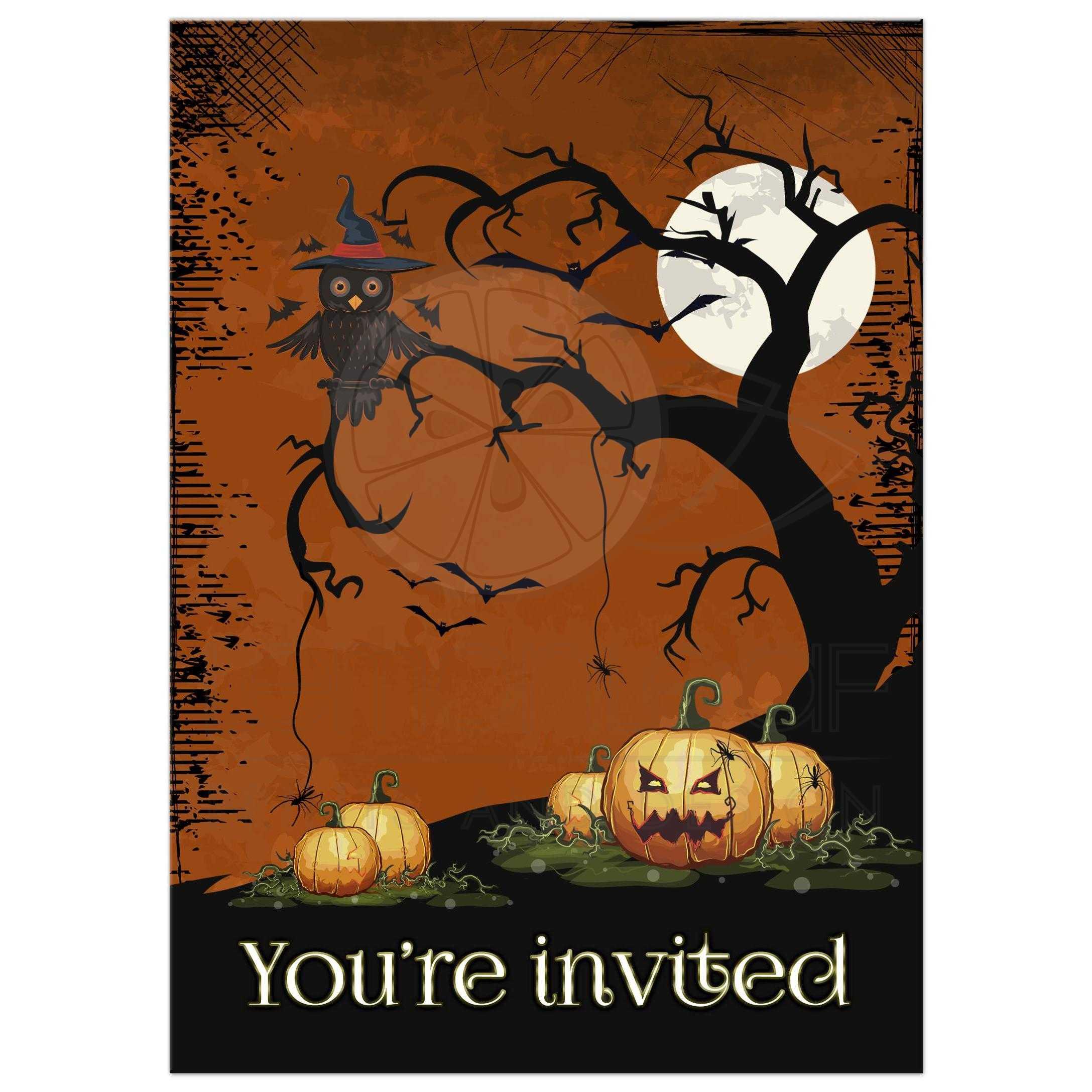 halloween party invatation