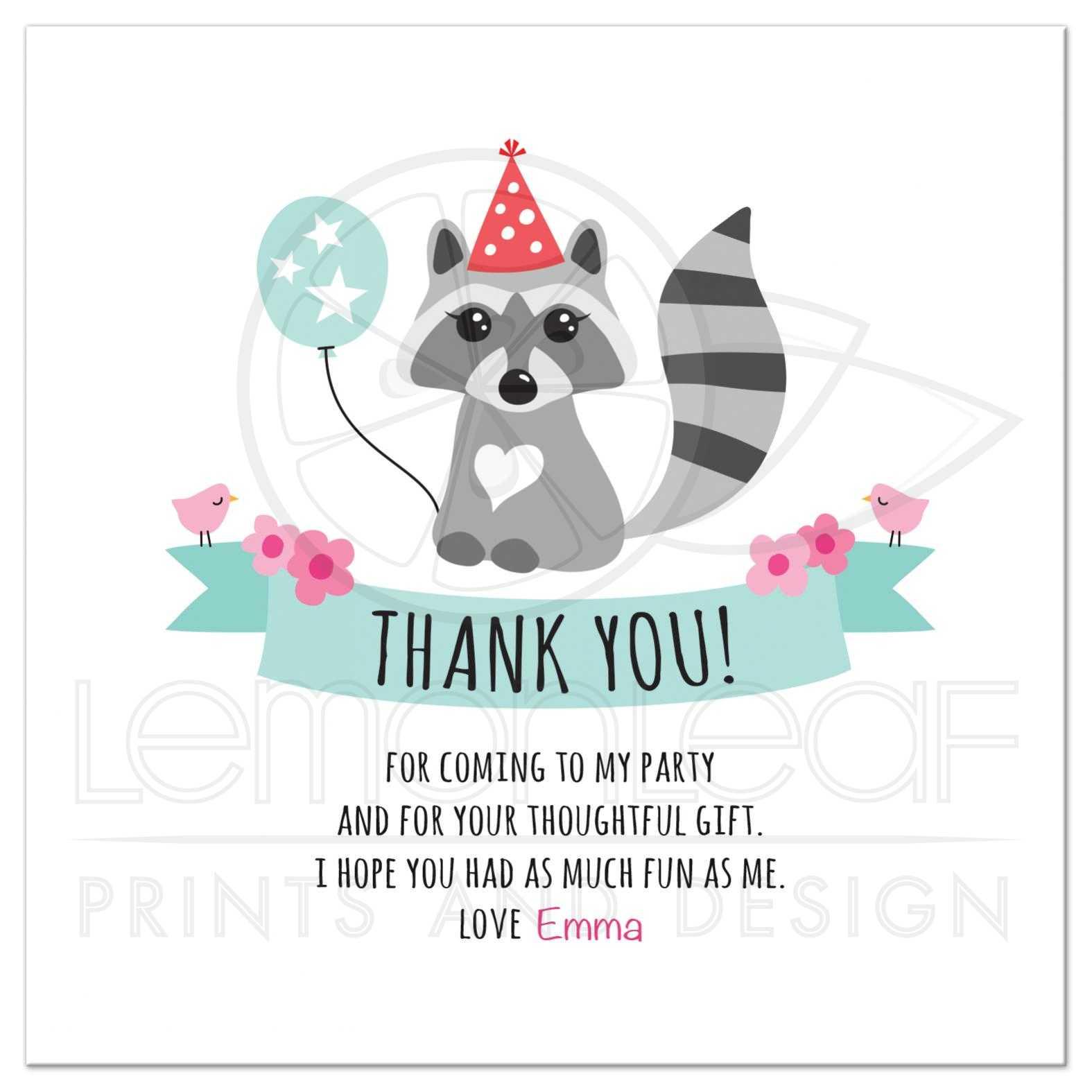 birthday thank you cards - Vatoz.atozdevelopment.co