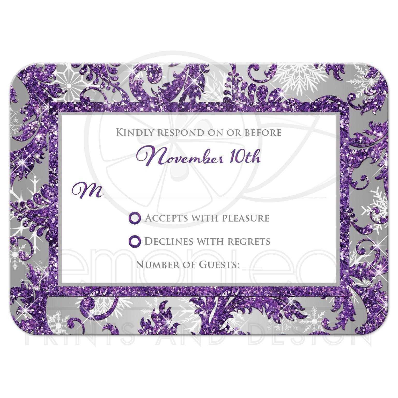 Purple And Silver Wedding Backgrounds