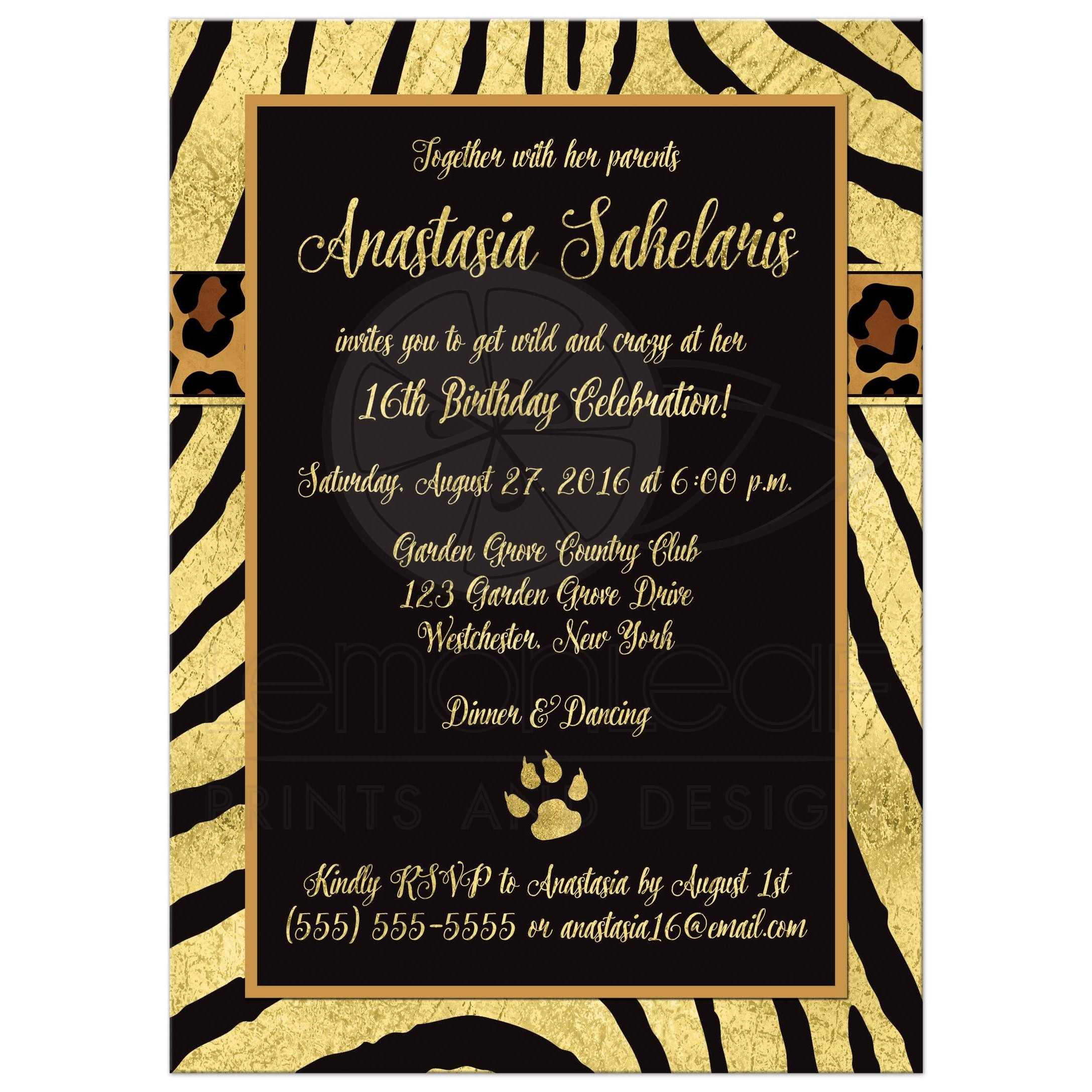 Invitations Quinceanera is nice invitation design