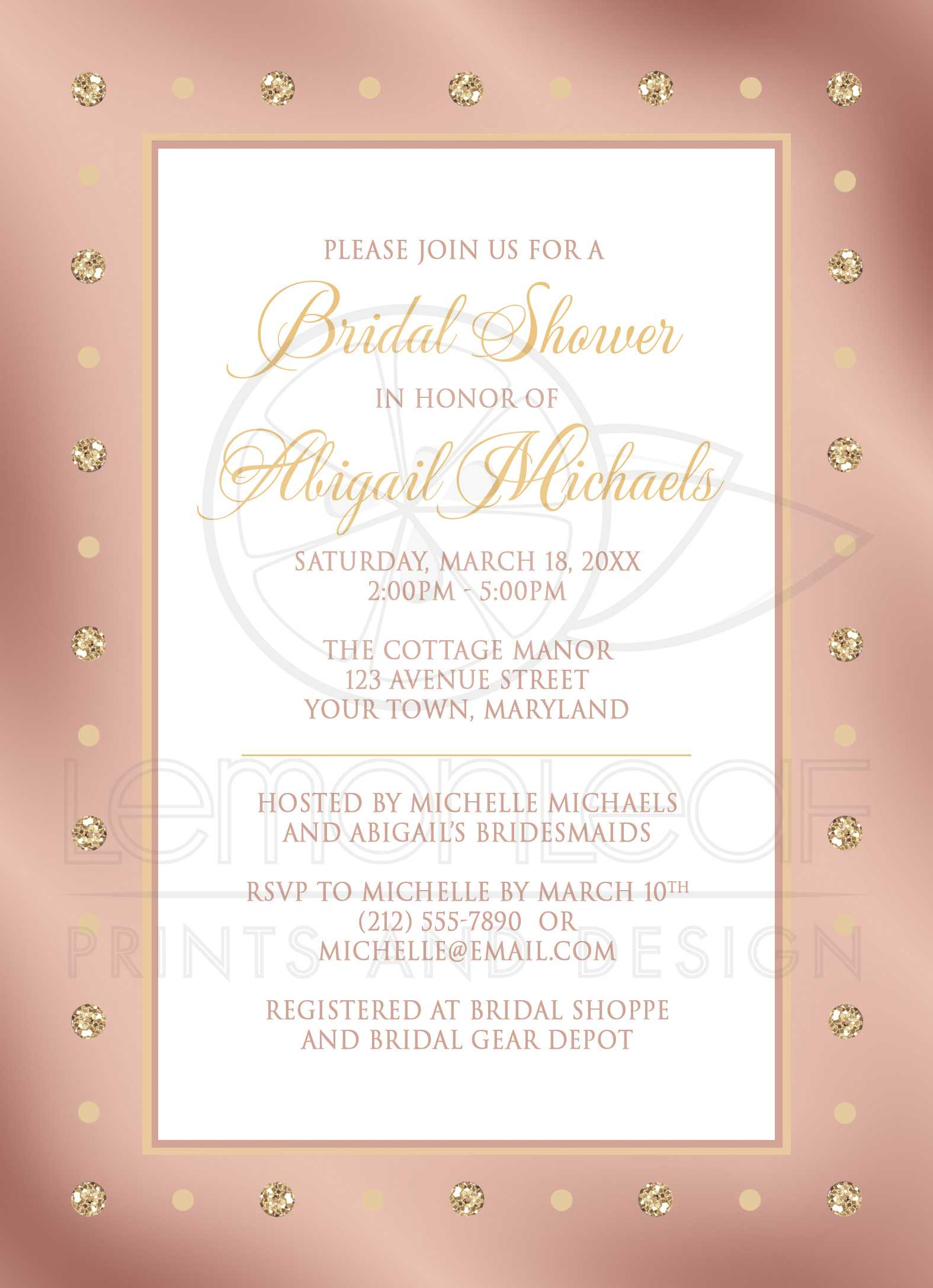 pooh printable pink glitter shower bridal and gems streaming lovely elegant invitations look baby of invitation amp the gold winnie