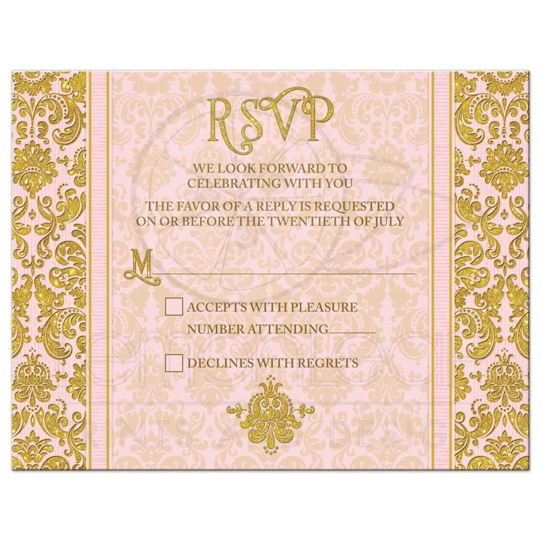 wedding rsvp cards wedding post card card diy wedding rsvp card