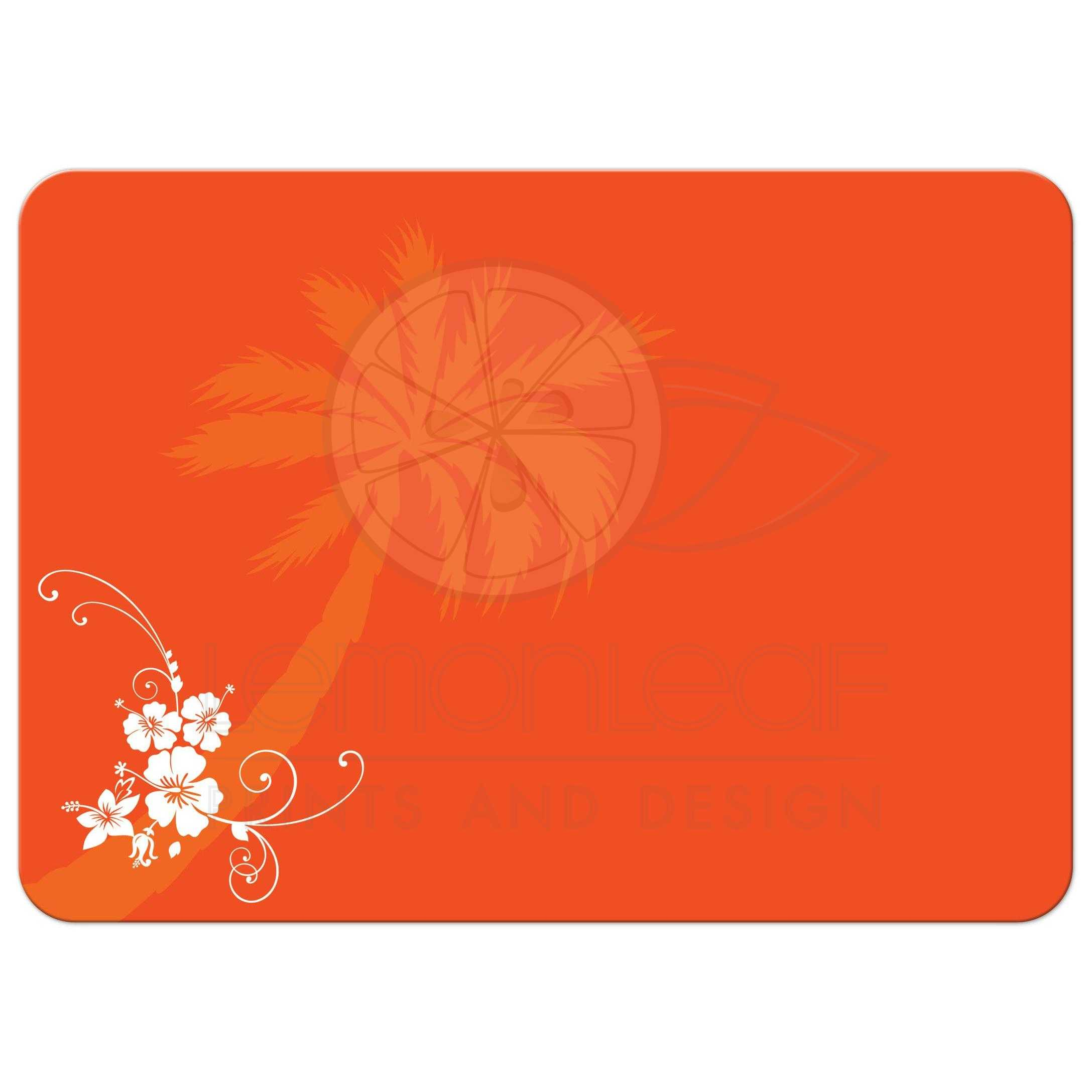 ... Orange And White Tropical Beach Theme Wedding Reception Only Invites  With Scallop