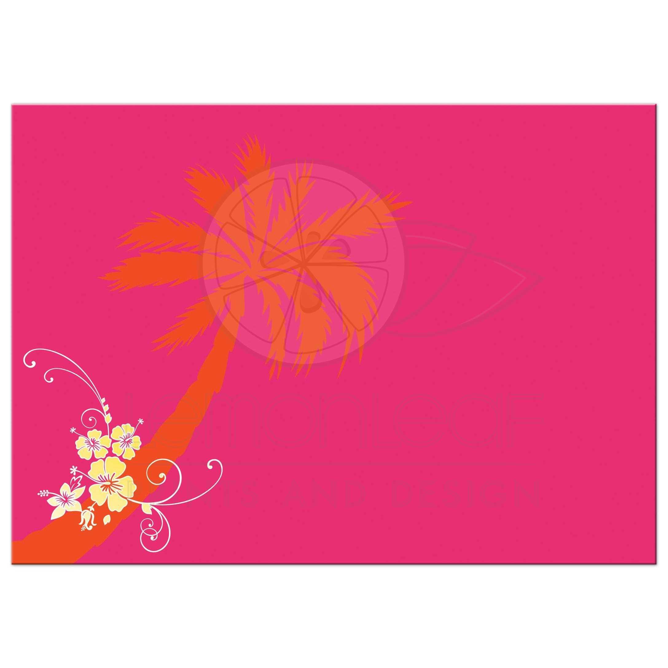 Post Wedding Reception Invitation | Yellow, Fuchsia, Orange, White ...