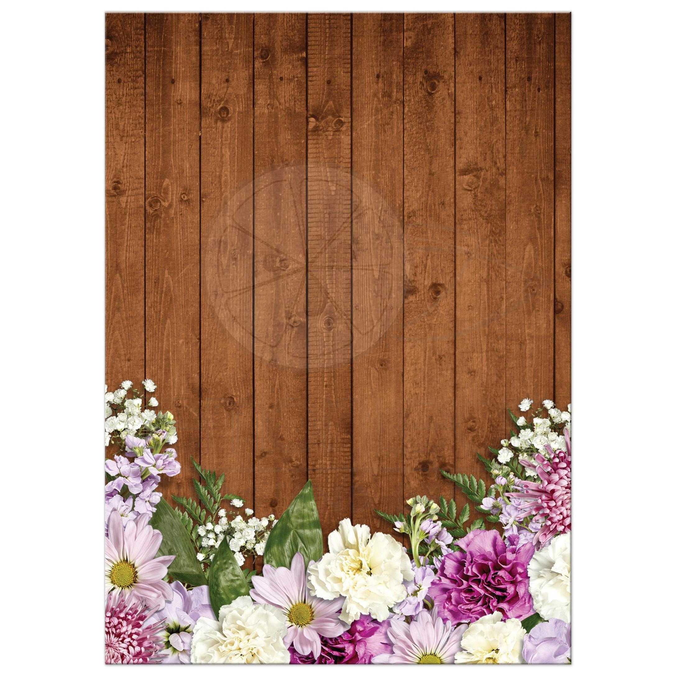 Rustic Spring Chalkboard Picture Frame Floral Wedding Invitation