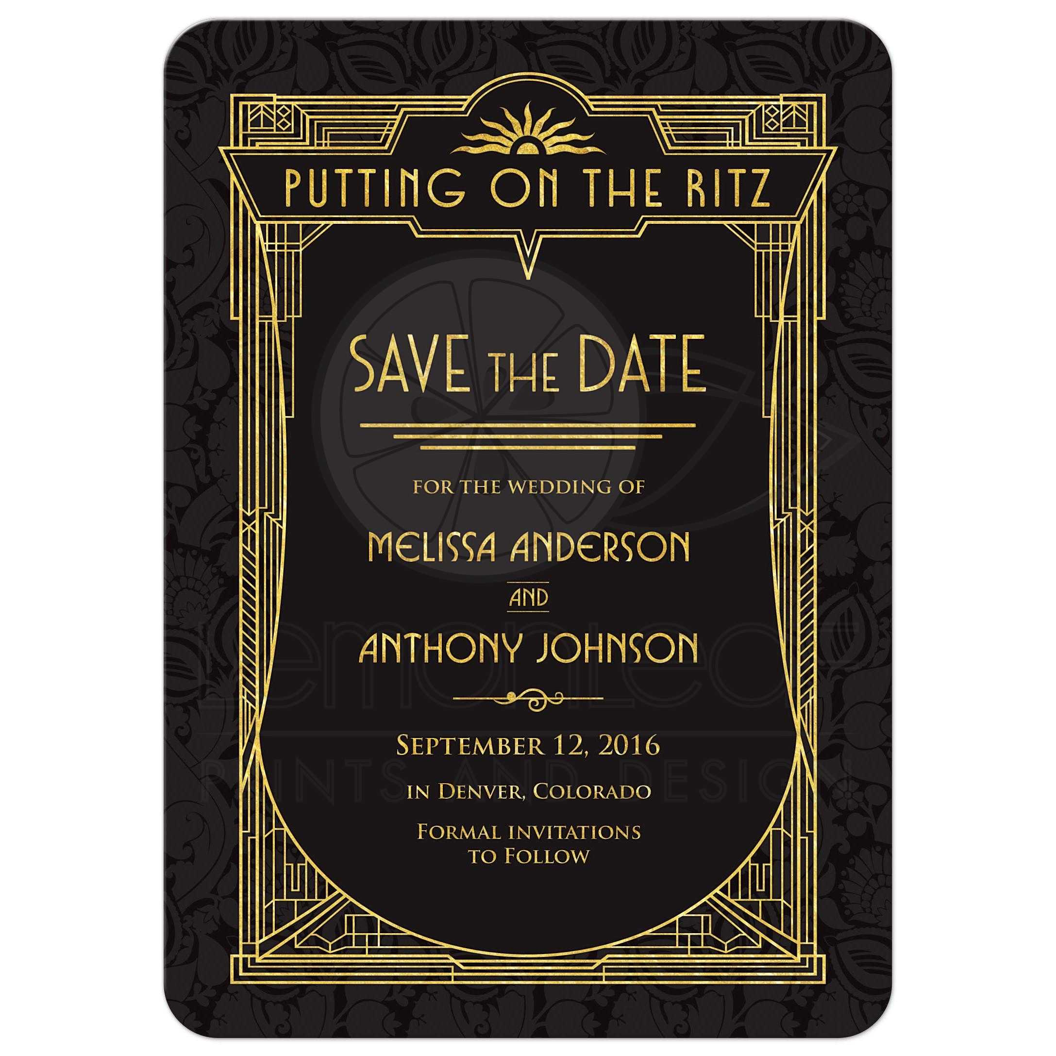 save the dates cards