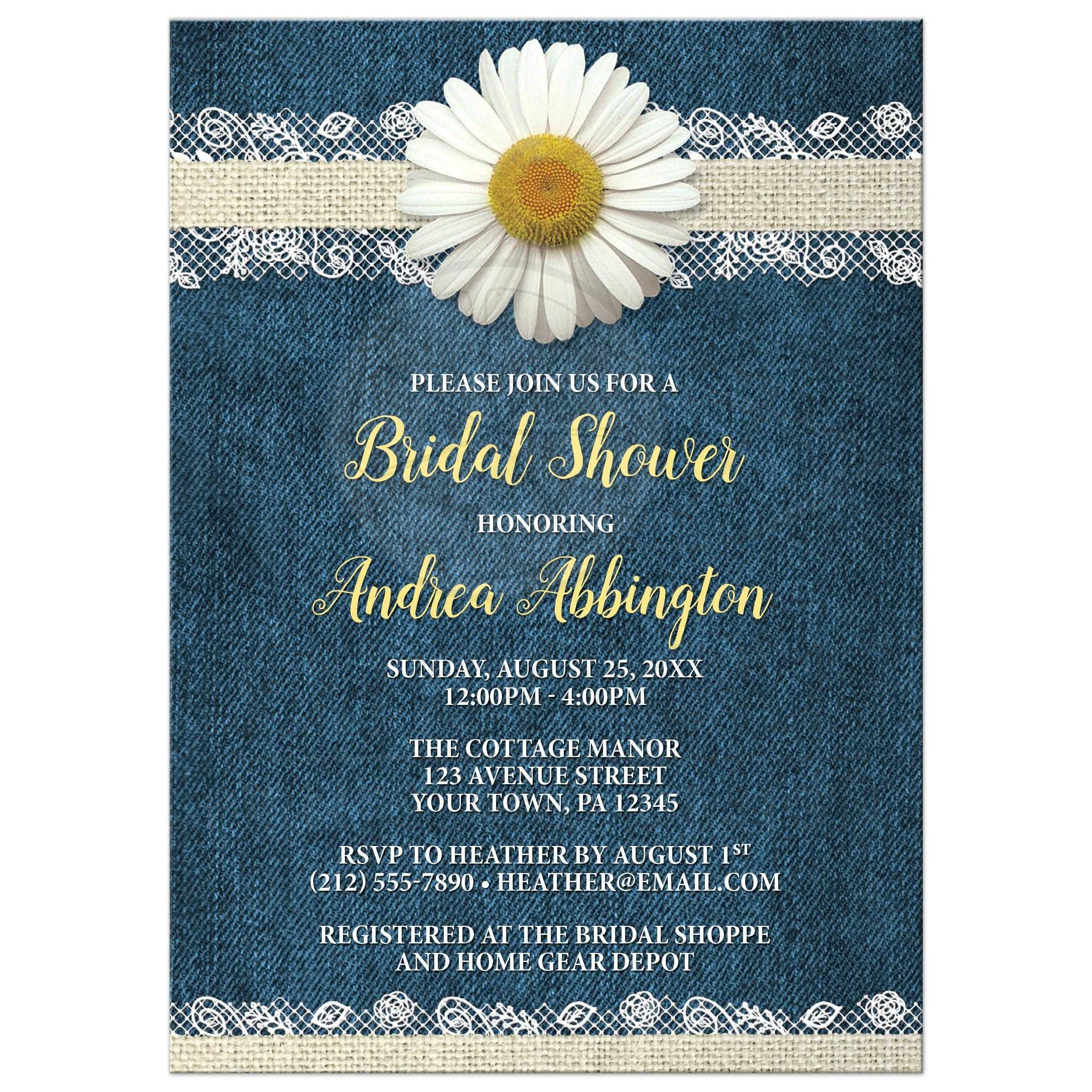 card cards blue floral navy shower or wedding bridal gerbera daisy you foldedfront thank coral
