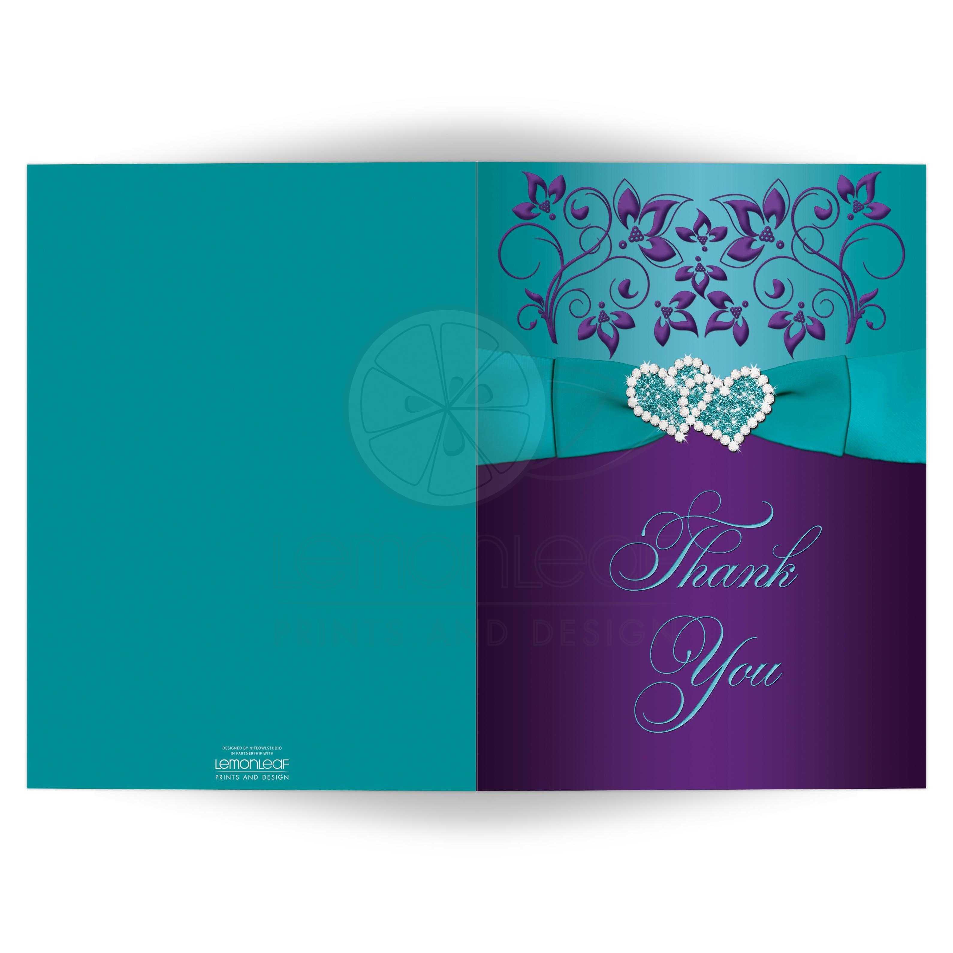 wedding photo thank you cards