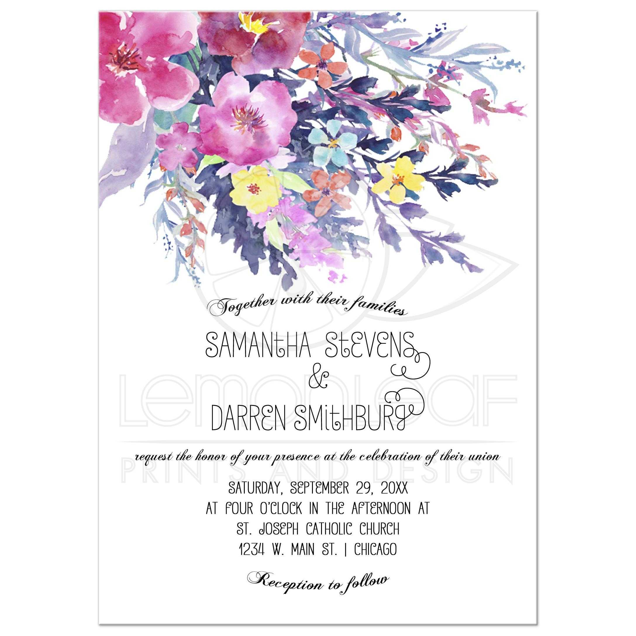 44606rectangleinvite5x725withbleedwatercolorontoparchedintroweddingfrontt1461680498: Wedding Invitations With Flowers At Websimilar.org