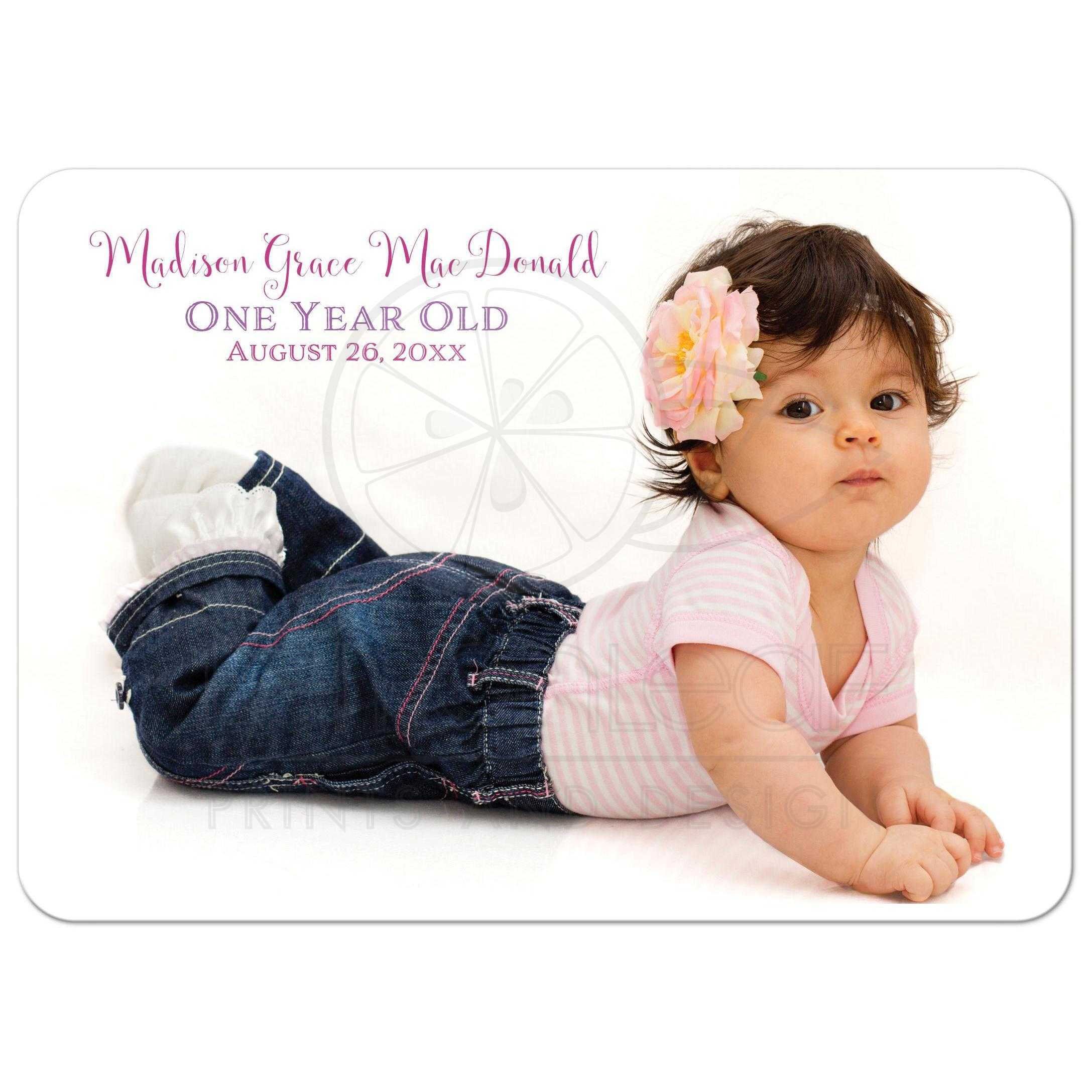 Photo optional 1st birthday invitation cute as a button faux rustic burlap and pink lace cute as a button 1st birthday invites with optional photo filmwisefo