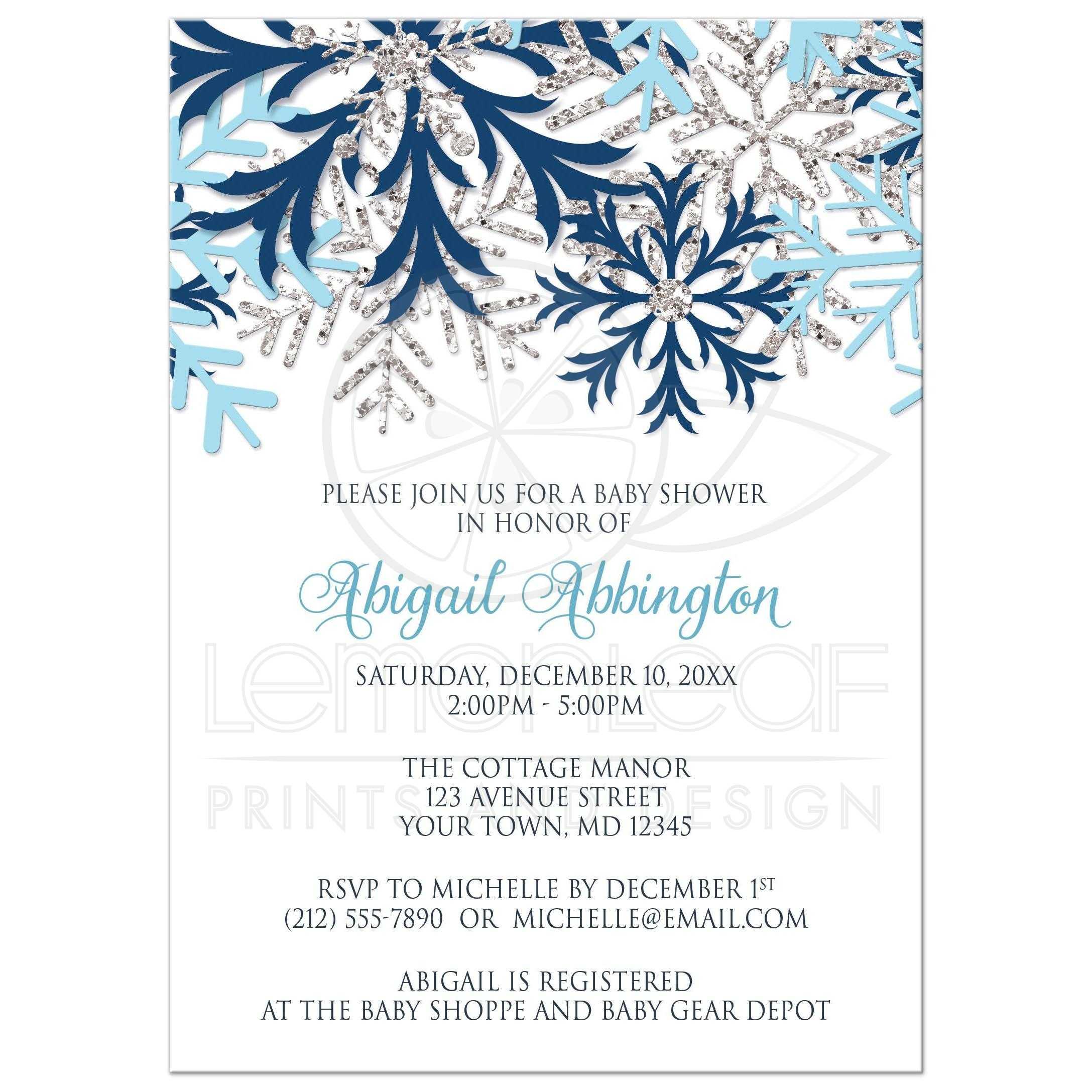 2719196ea4c 47715 Rectangle Snowflake Winter Blue Silver Baby Shower Invitations.jpg t 1481996047
