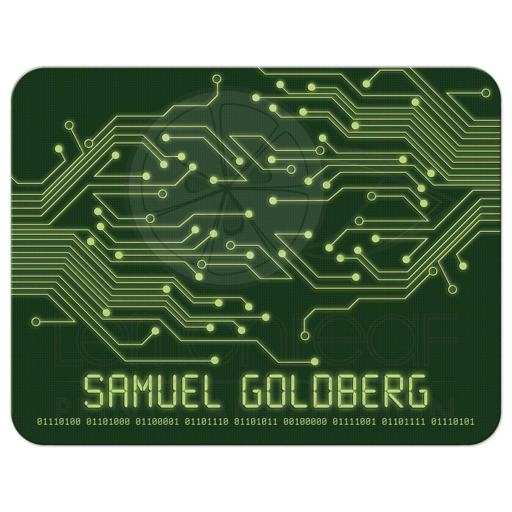 Computer Circuit Board Bar Mitzvah Flat Thank You Card Electronics ...