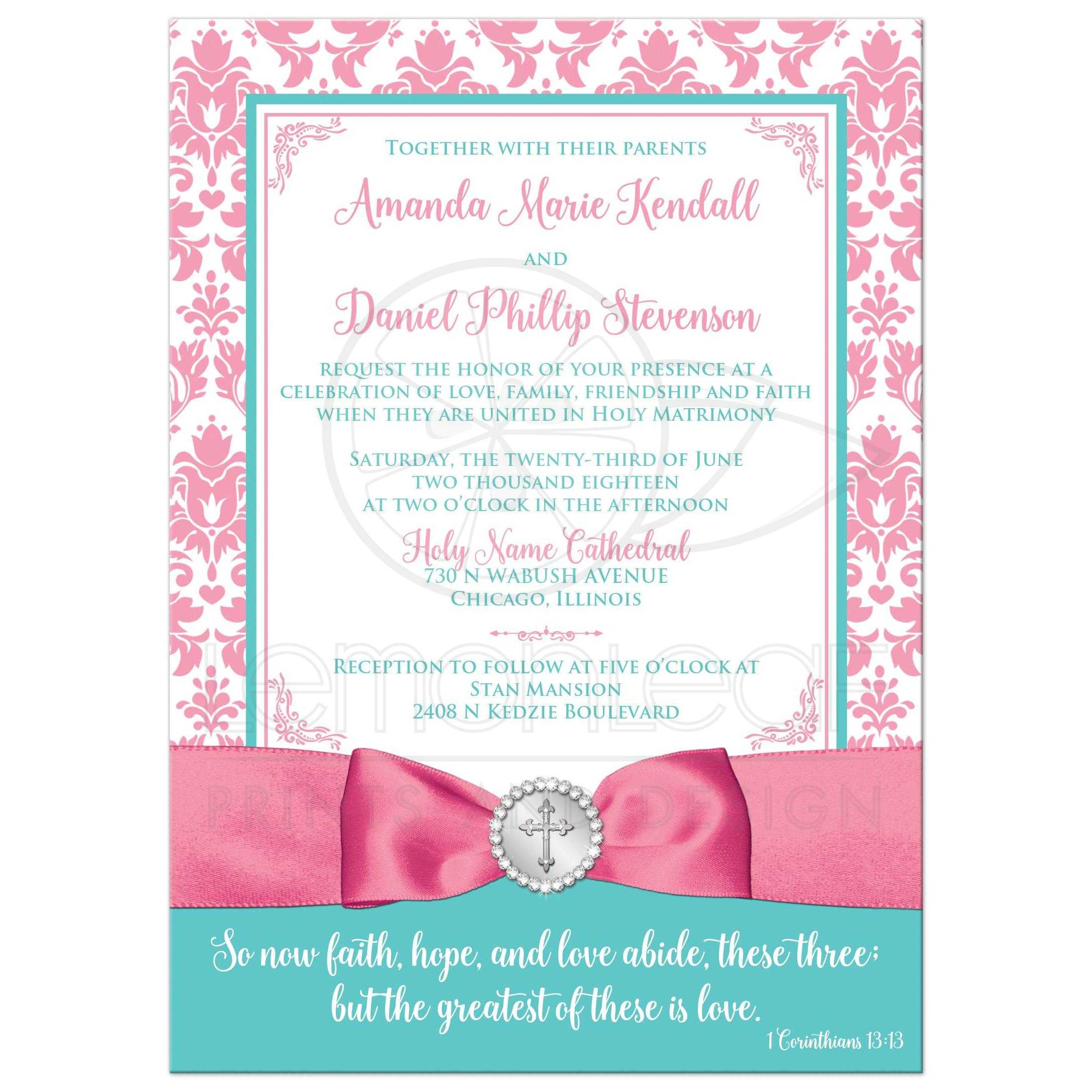 Christian Wedding Invite