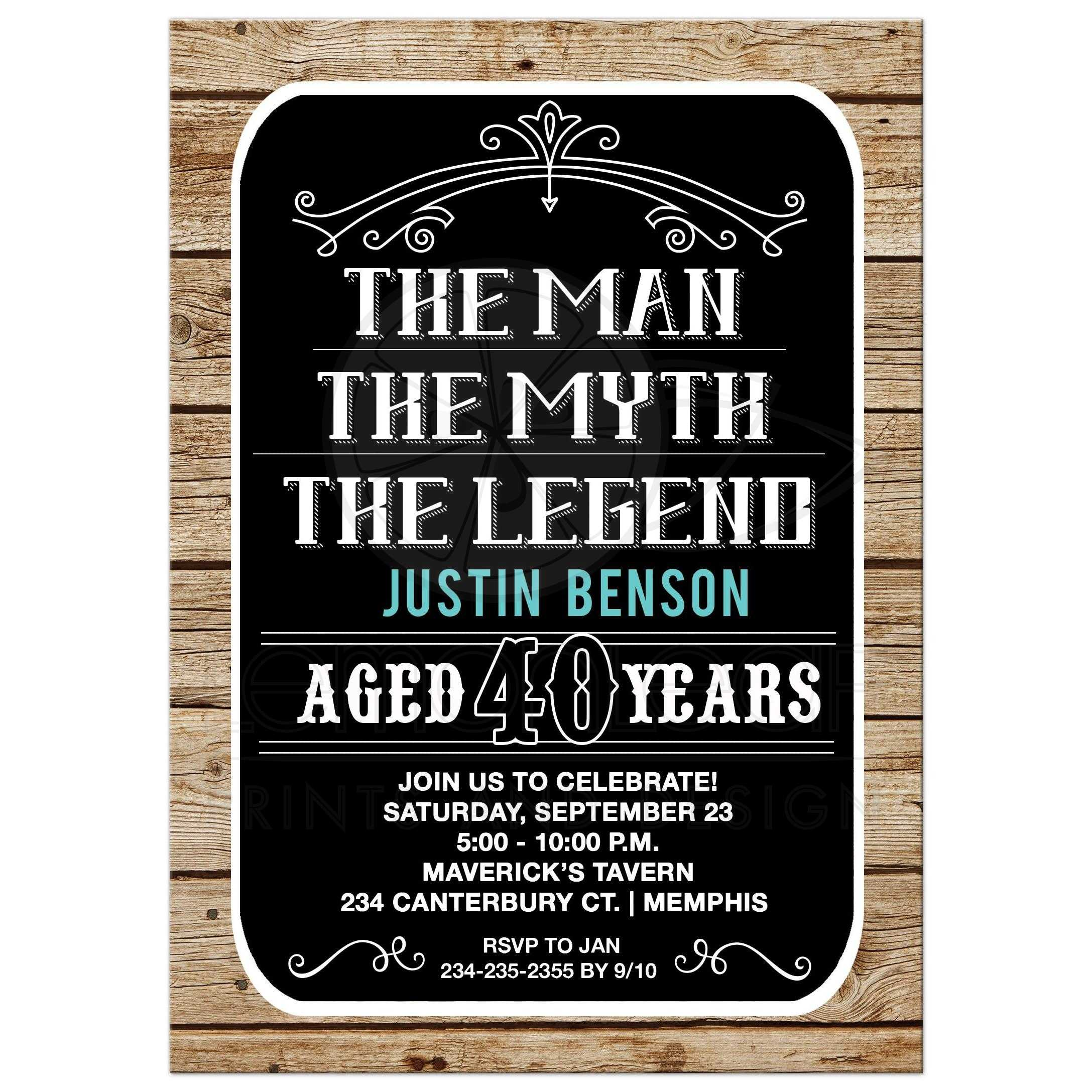 Man Birthday Invite Please Note That ALL Designs On Lemon Leaf Prints Are Flat Printed All Embellishments Of Ribbons Bows Flowers Glitter